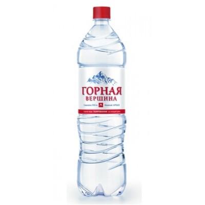 купить воду ГОРНАЯ ВЕРШИНА газированная