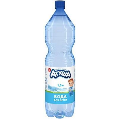 АГУША вода для детей, 6 бут.х1.5 л без газа