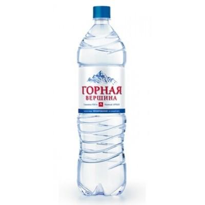 купить воду ГОРНАЯ ВЕРШИНА 1,5