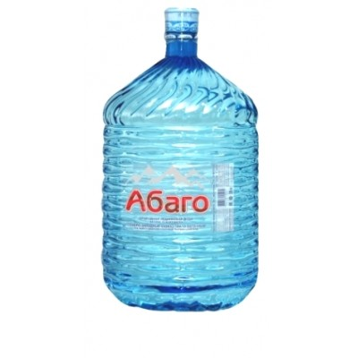 Вода абаго в одноразовой бутыле