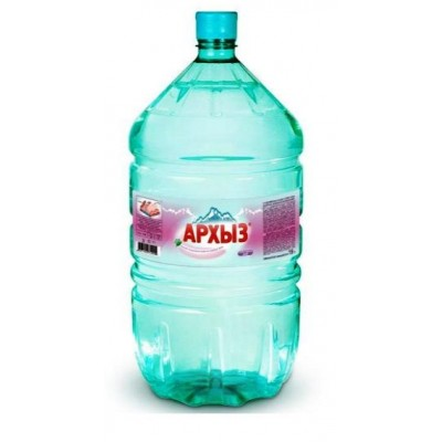 АРХЫЗ минеральная столовая вода 19л одноразовая тара - 420 рублей при заказе от 4 бутылей