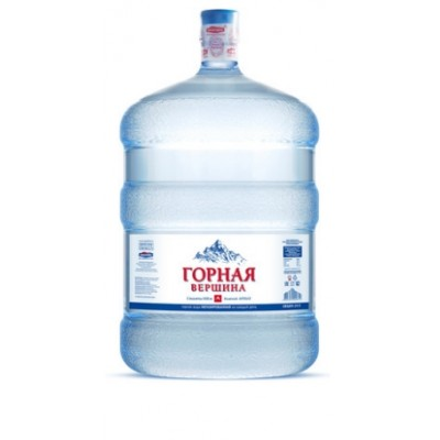 Bода ГОРНАЯ ВЕРШИНА Минеральная столовая вода 19л - 330 рублей при заказе от 4 бутылей