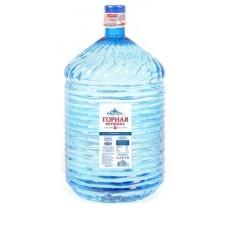 ГОРНАЯ ВЕРШИНА Минеральная столовая вода 19л в одноразовой таре