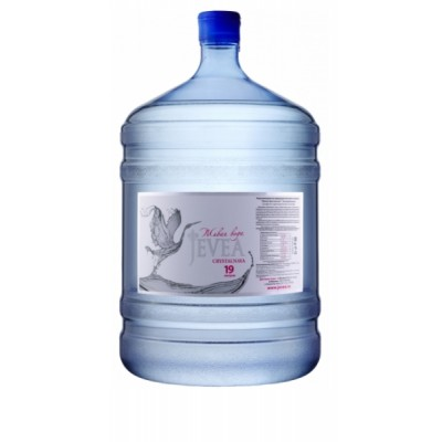 ЖИВЕЯ КРИСТАЛЬНАЯ минеральная питьевая столовая вода 19л