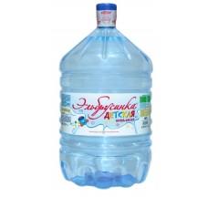 Вода ЭЛЬБРУСИНКА ДЕТСКАЯ Минеральная столовая вода 19л в одноразовой таре