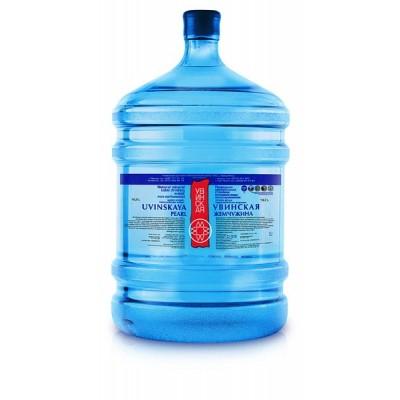 УВИНСКАЯ ЖЕМЧУЖИНА Минеральная столовая вода 19л