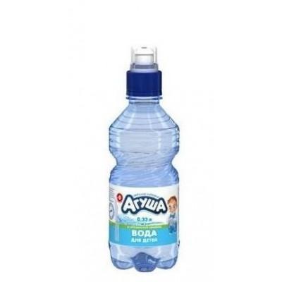 купить воду АГУША 0,33