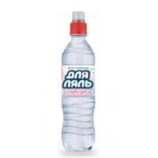 ДляЛяль вода для детей, 12 бут.х0.5 л без газа