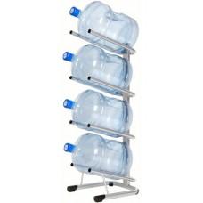 Стеллаж - подставка для 4 бутылей